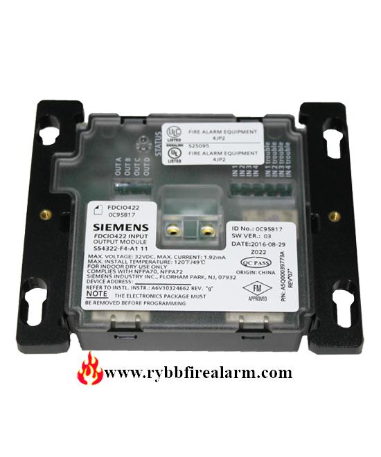 Siemens Fdcio422 Input  Output Module 120 Vac Version P  N