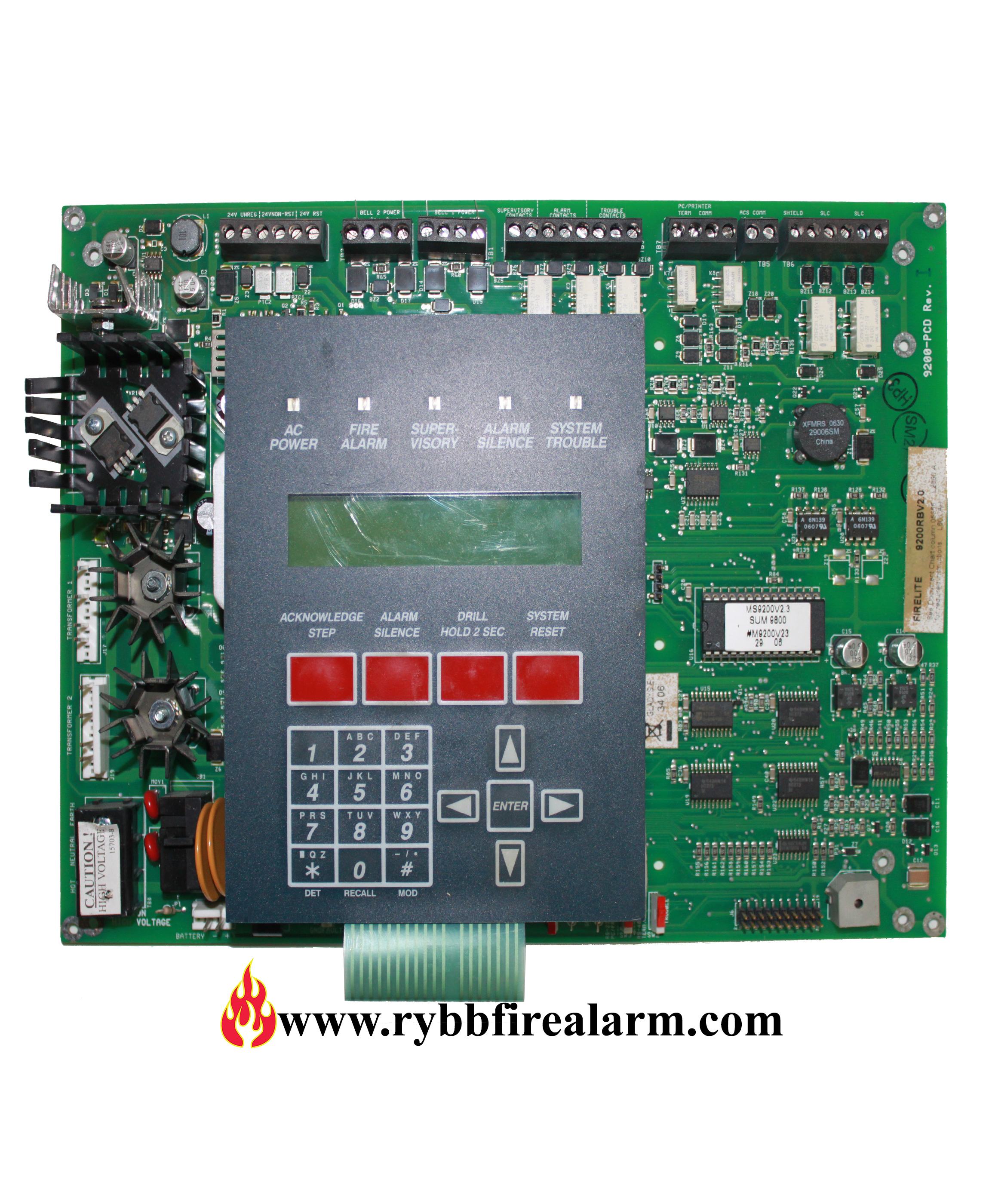Fire Lite Ms 9200 New Style Fire Alarm Control Panel