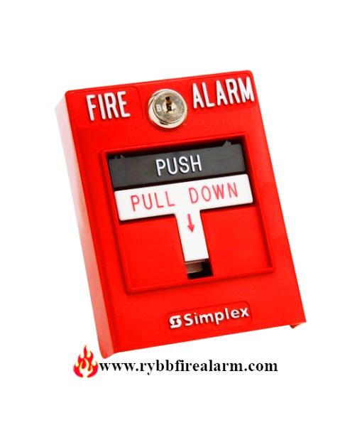 Simplex 4099-9006 Pull Station P/N:06501211