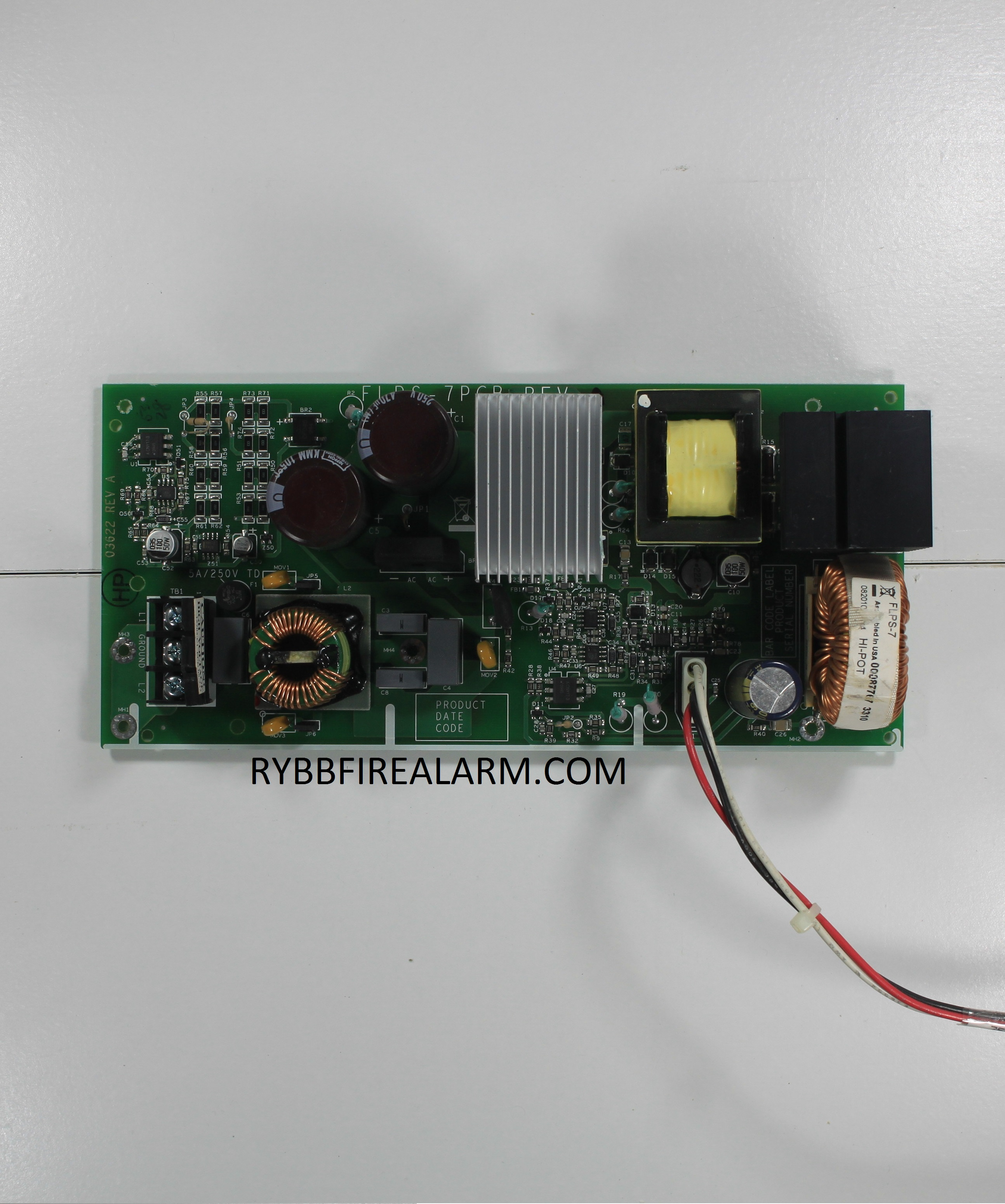 FLPS 7 fire lite flps 7 power supply rybb fire alarm parts, service  at bayanpartner.co