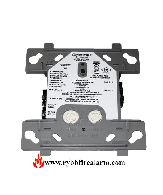 Notifier Fmm 1 Addressable Monitor Module Rybb Fire