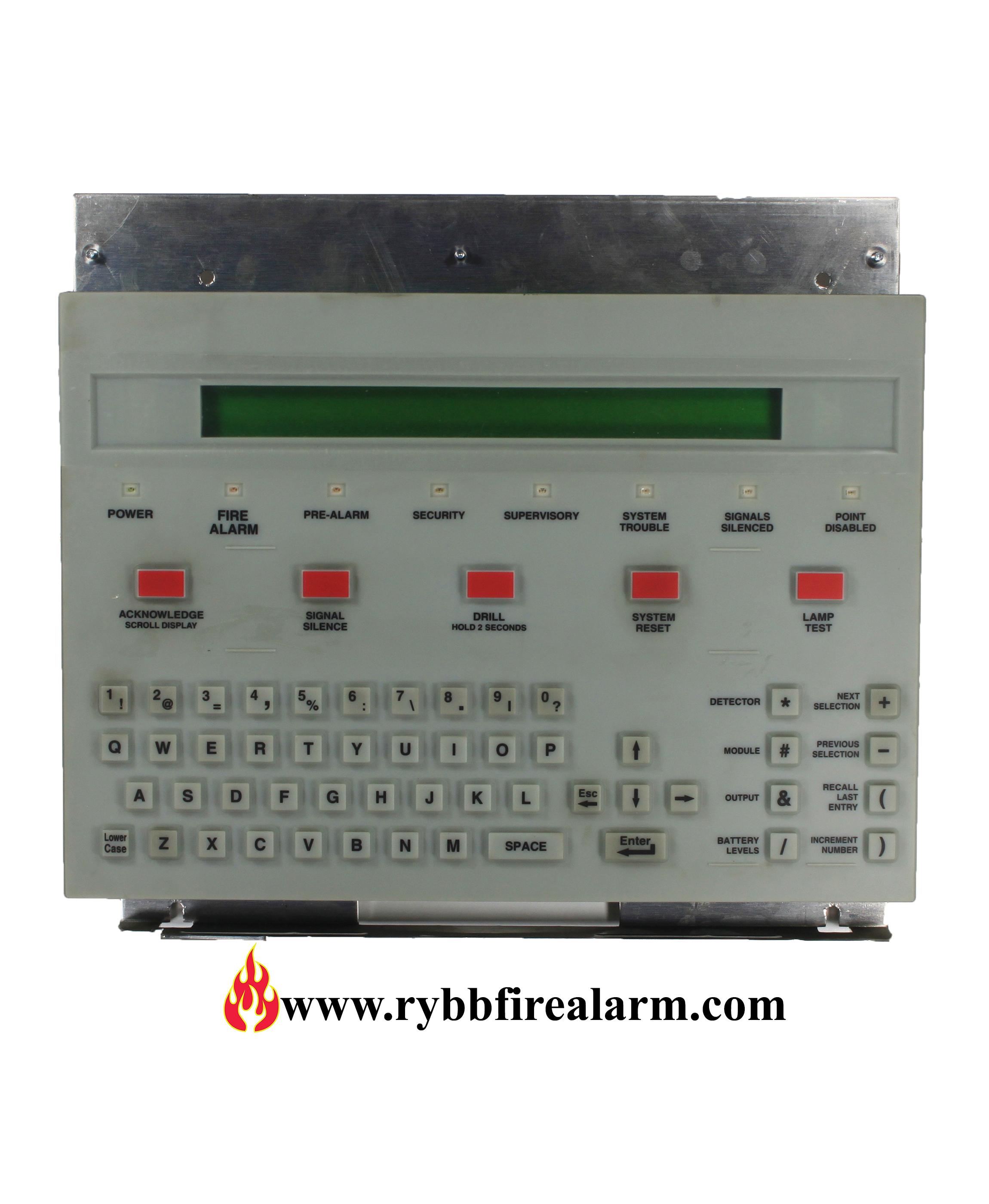 Notifier Kdm 2 Keypad For An Nfs 640 Rybb Fire Alarm