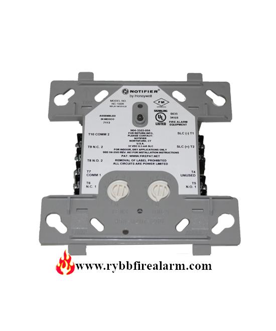Notifier Nc 100r Addressable Relay Module Rybb Fire
