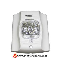 System Sensor P2W-P Horn Strobe White Plain