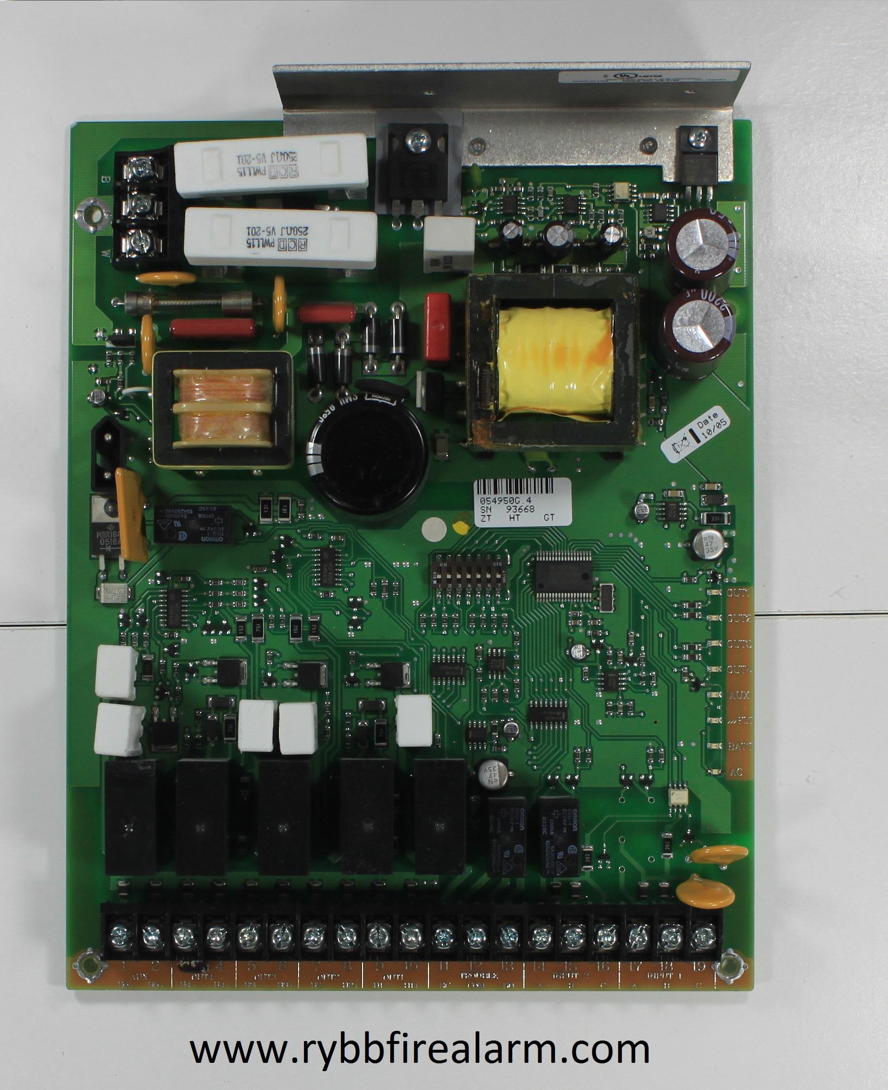 Silent Knight Sk 5495 Power Supply Rybb Fire Alarm Parts