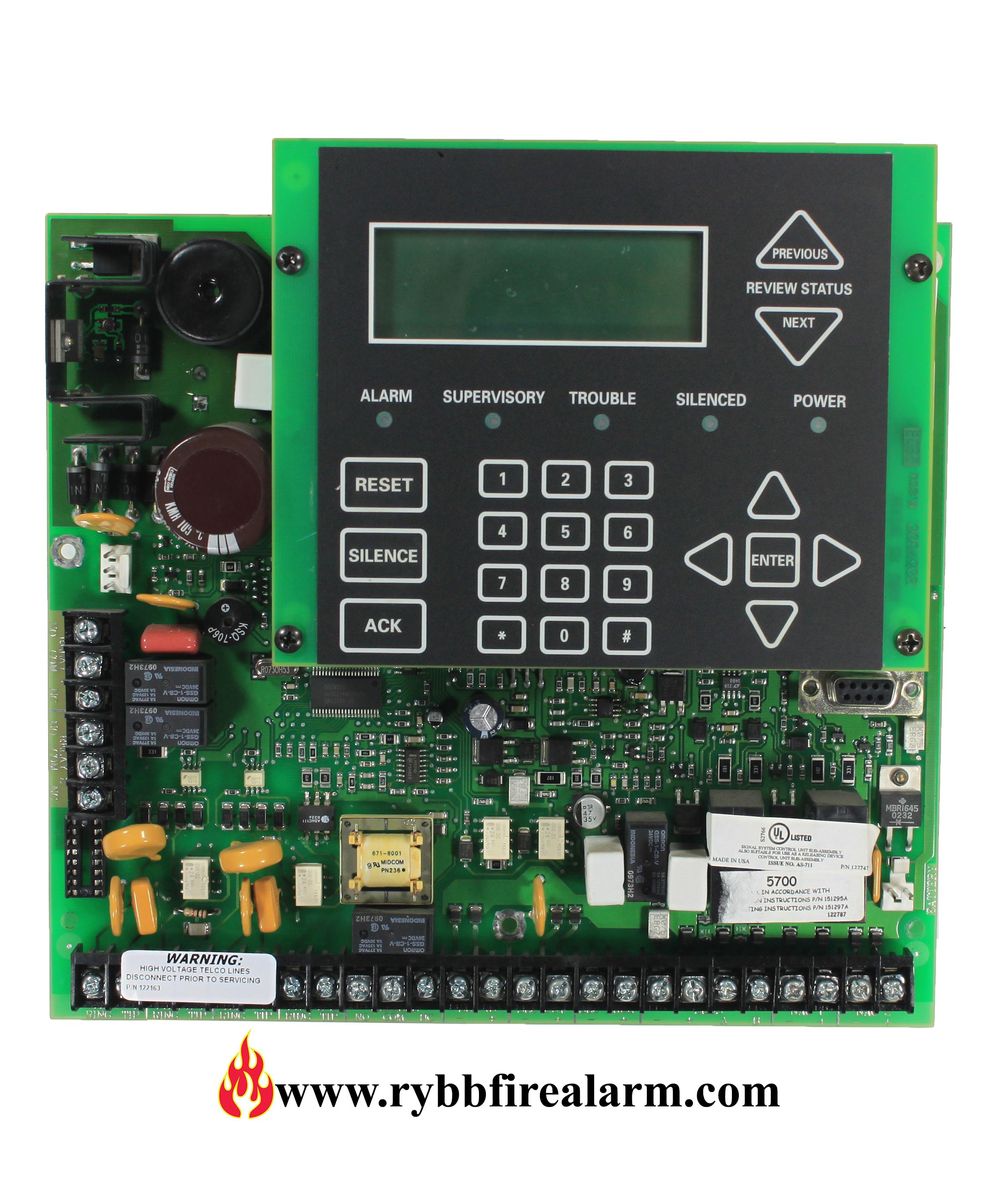 Silent Knight Intelliknight 5700 Fire Alarm Control Panel