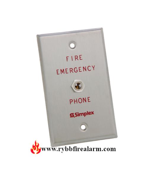 Simplex PID: 2084-9001 Phone Jack Firefighter Telephones