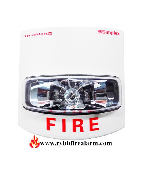 Simplex PID: 49VO-WWF Fire Alarm Addressable Strobe P/N 07431061