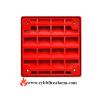 Cooper Wheelock ET-1010-R Wall Speaker Red P/N:103135
