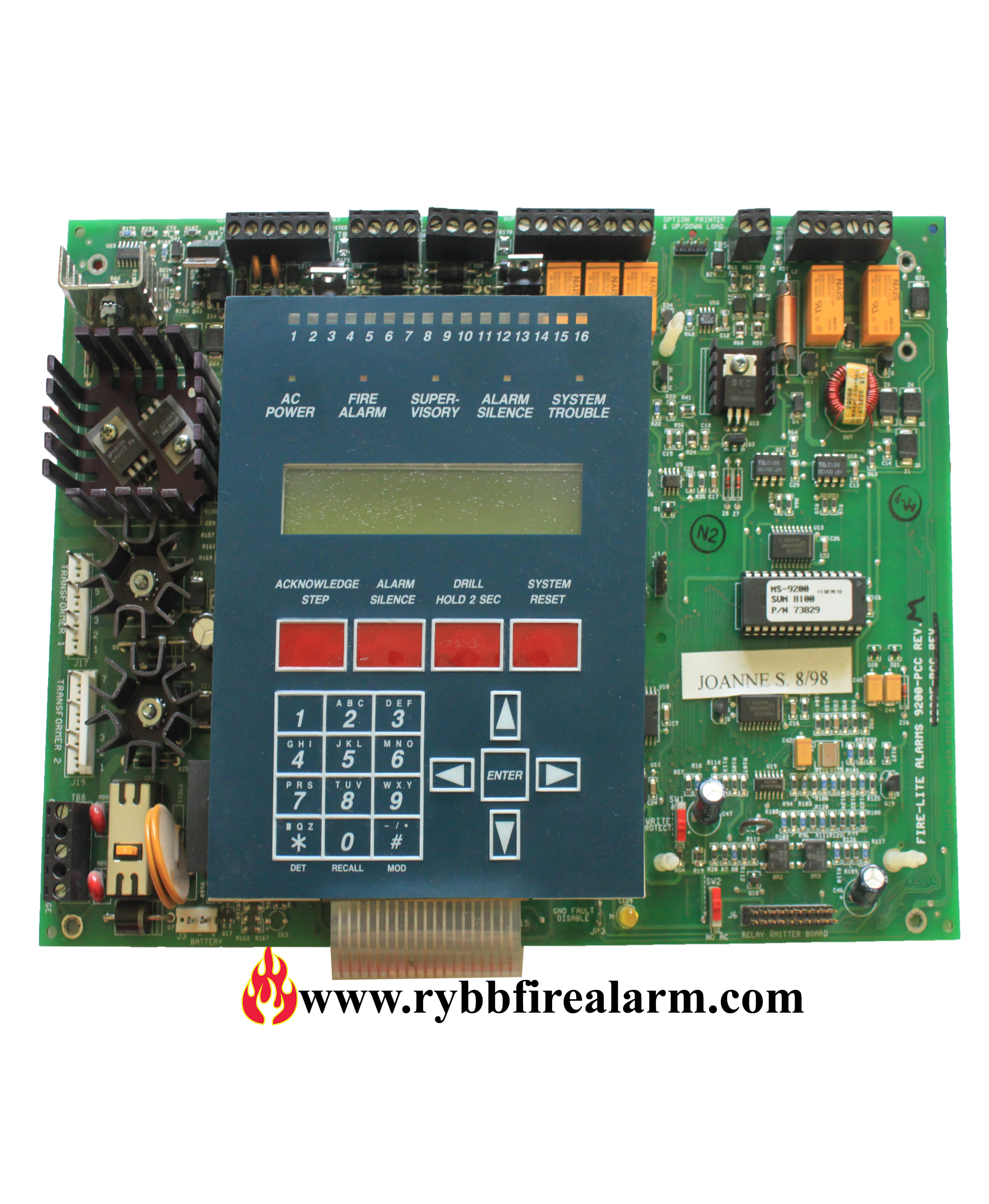 Details about Fire-Lite MS-9200 Fire Alarm Control Panel Replacement Board  (Old Style)