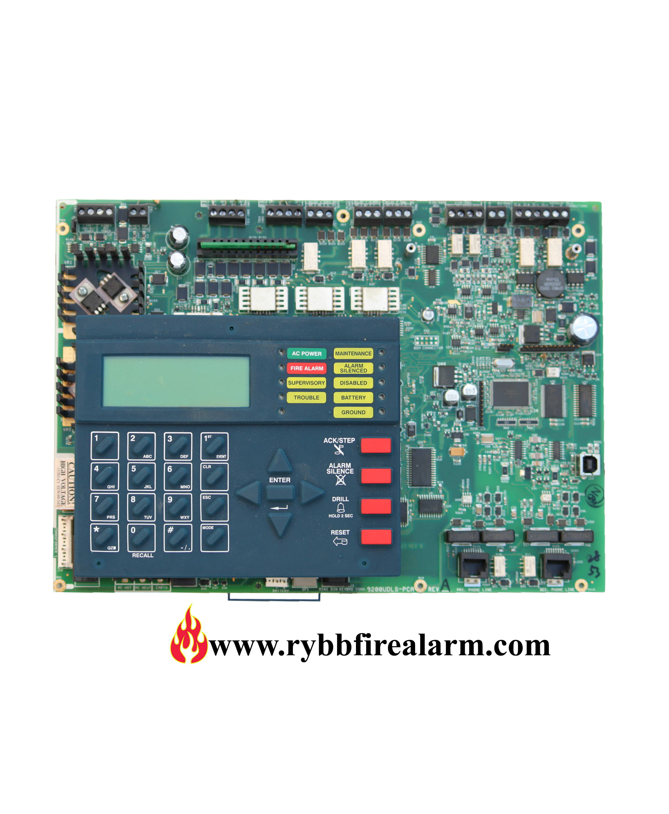 Fire-Lite MS-9200UDLS Rev 2 Replacement board – RYBB Fire Alarm ...