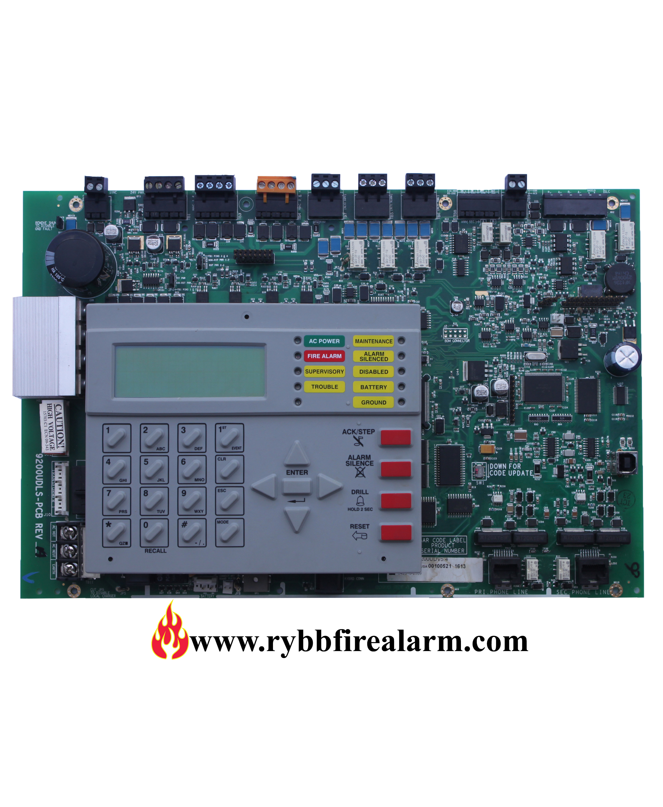 Notifier Nfw2 100 Replacement Board Rev3 Rybb Fire Alarm