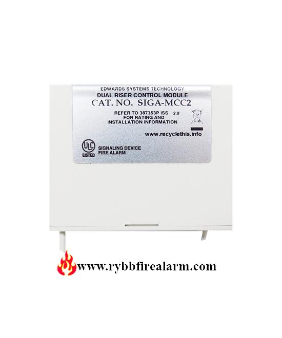 Details about  /Est Edwards SIGA-MCT2 Dual Input Module Fire Alarm