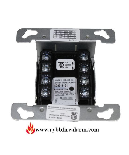 Simplex 4090 9101 Addressable Zone Adapter Module P N