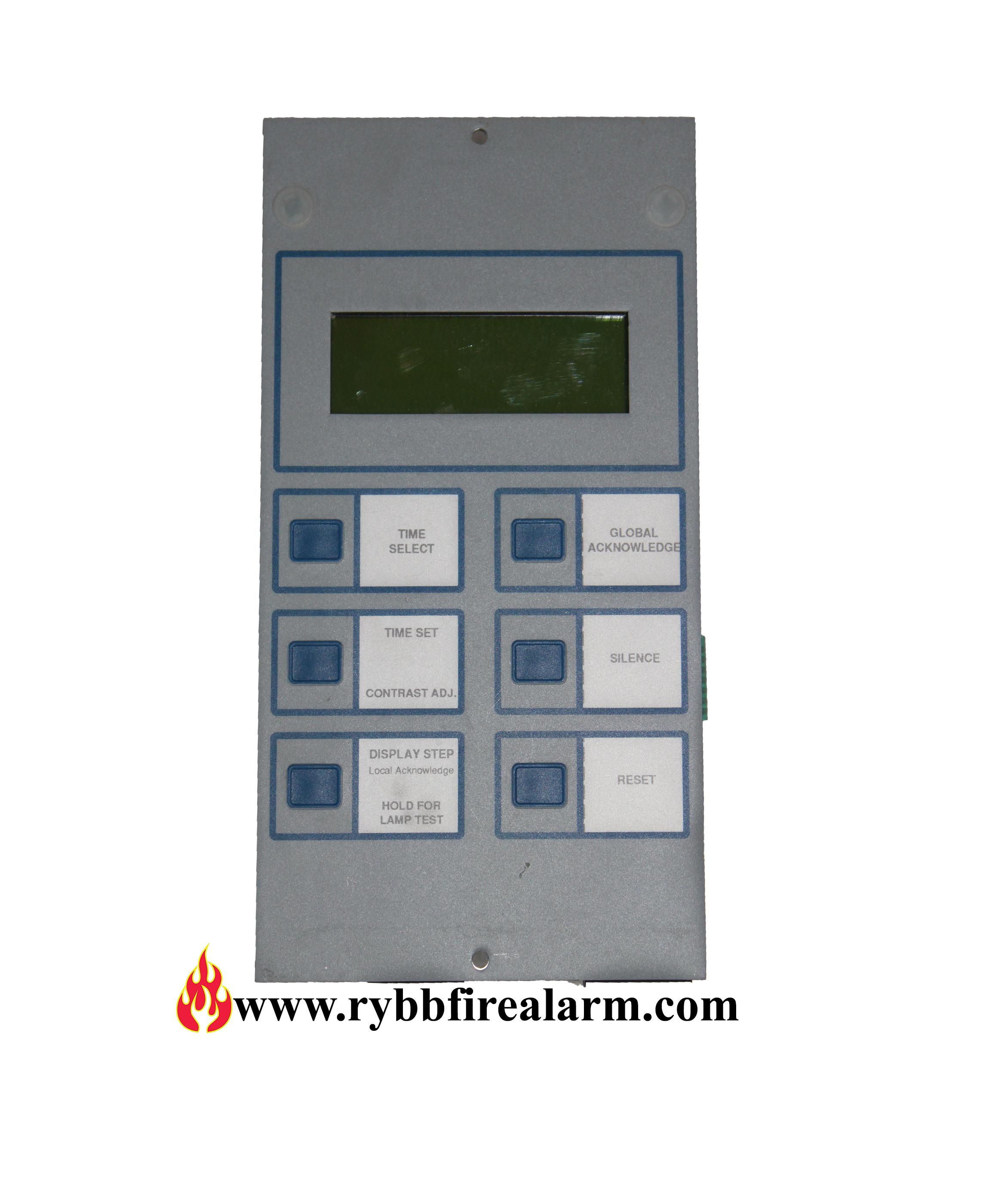 notifier lcd 80 fire alarm annunciator rybb fire alarm parts rh rybbfirealarm com Notifier System 5000 Operation Manual Honeywell Notifier User Manual