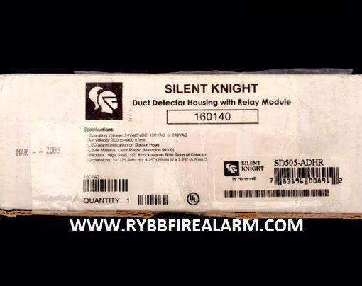 Silent Knight Sd505 Adhr Intelligent Duct Smoke Detector