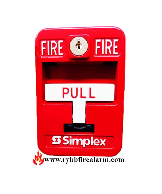 simplex 2099 9138 weatherproof manual pull station p n 630 665