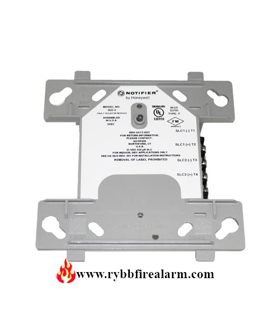 Notifier Iso X Fault Isolator Module Rybb Fire Alarm