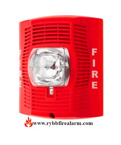 System Sensor SPSR Wall Speaker Strobe (Red)