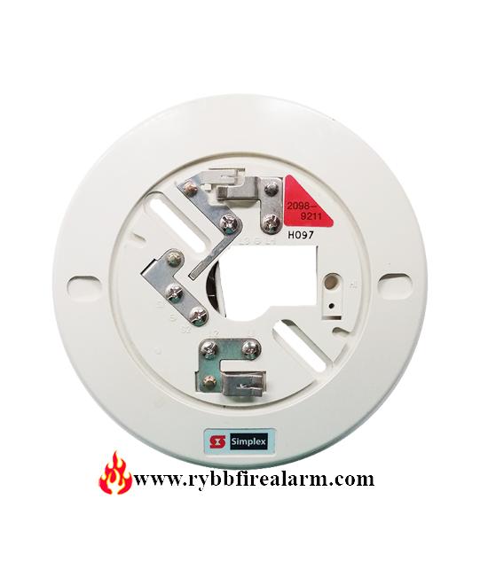 Simplex 2098-9211 2-wire Smoke Detector Bas P  N