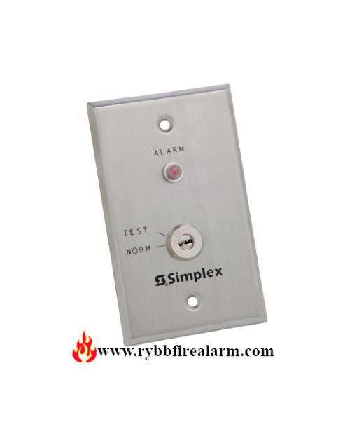 Simplex 2098-9806 Remote Test Station Red Led Key P/N: 0621151