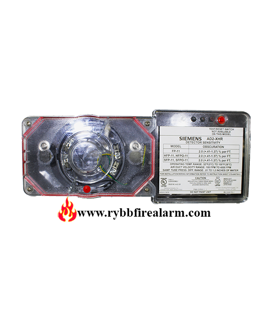Siemens Ad2 Xhr Duct Smoke Detector P N 500 649708 Rybb