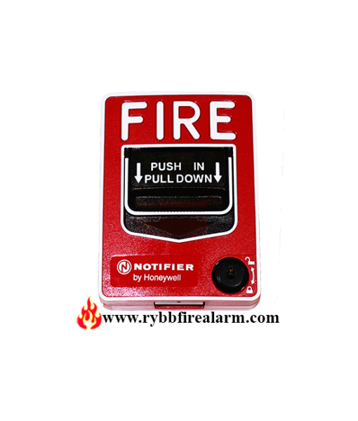 notifier nbg 12l manual pull station  dual action indoor applications  rybb fire alarm parts Radionics D2112 Alarm Manual Radionics Omegalarm D6112