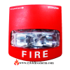 Simplex 49VO-WRF Wall Strobe (Red)