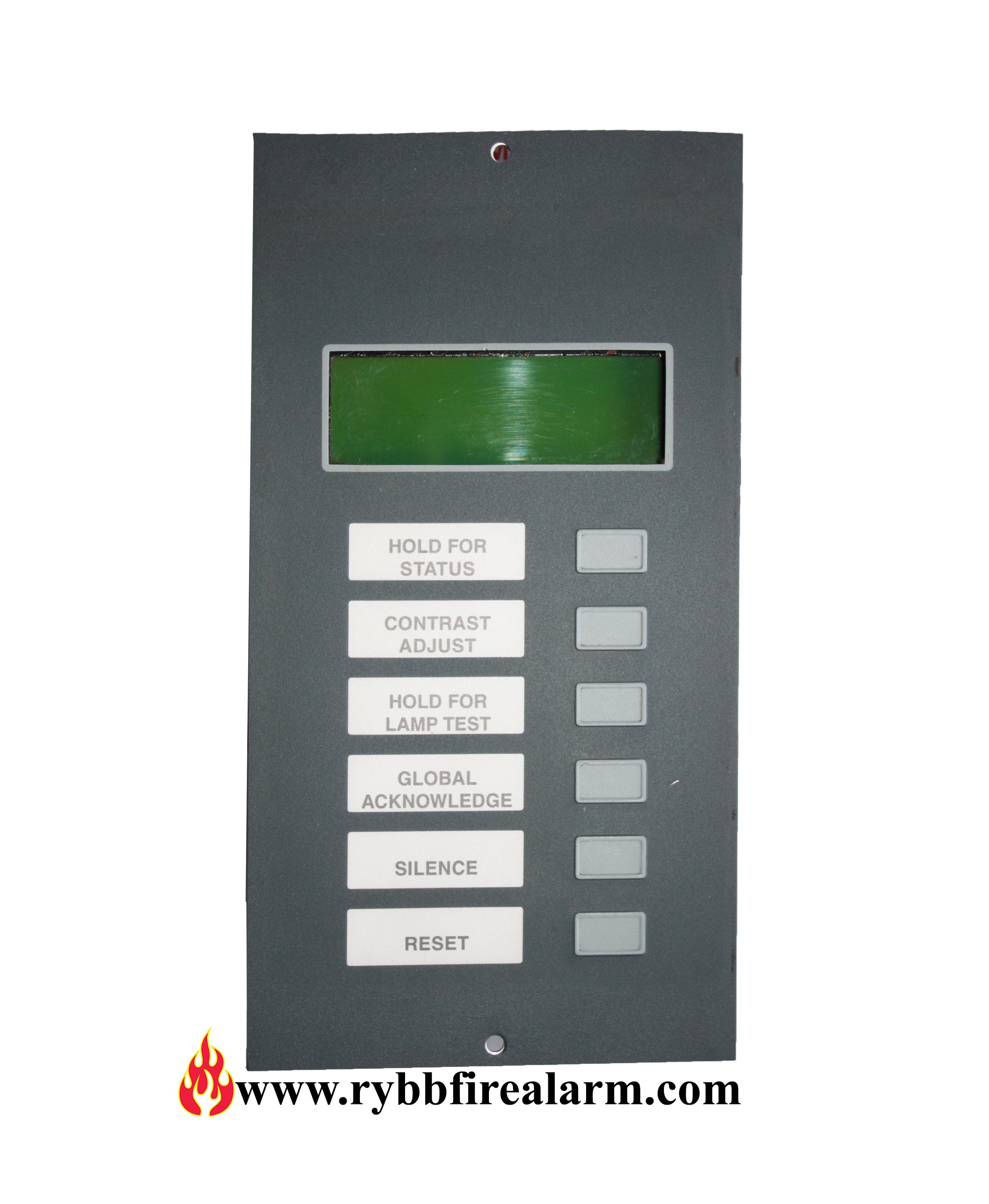 Notifier Lcd 80tm Fire Alarm Annunciator Rybb Fire Alarm