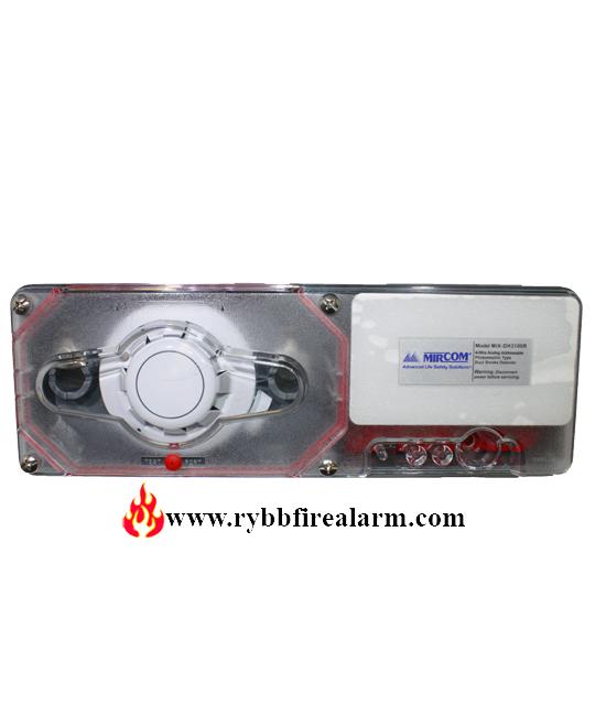 Mircom Mix Dh3100r 4 Wire Analog Addressable Duct Smoke