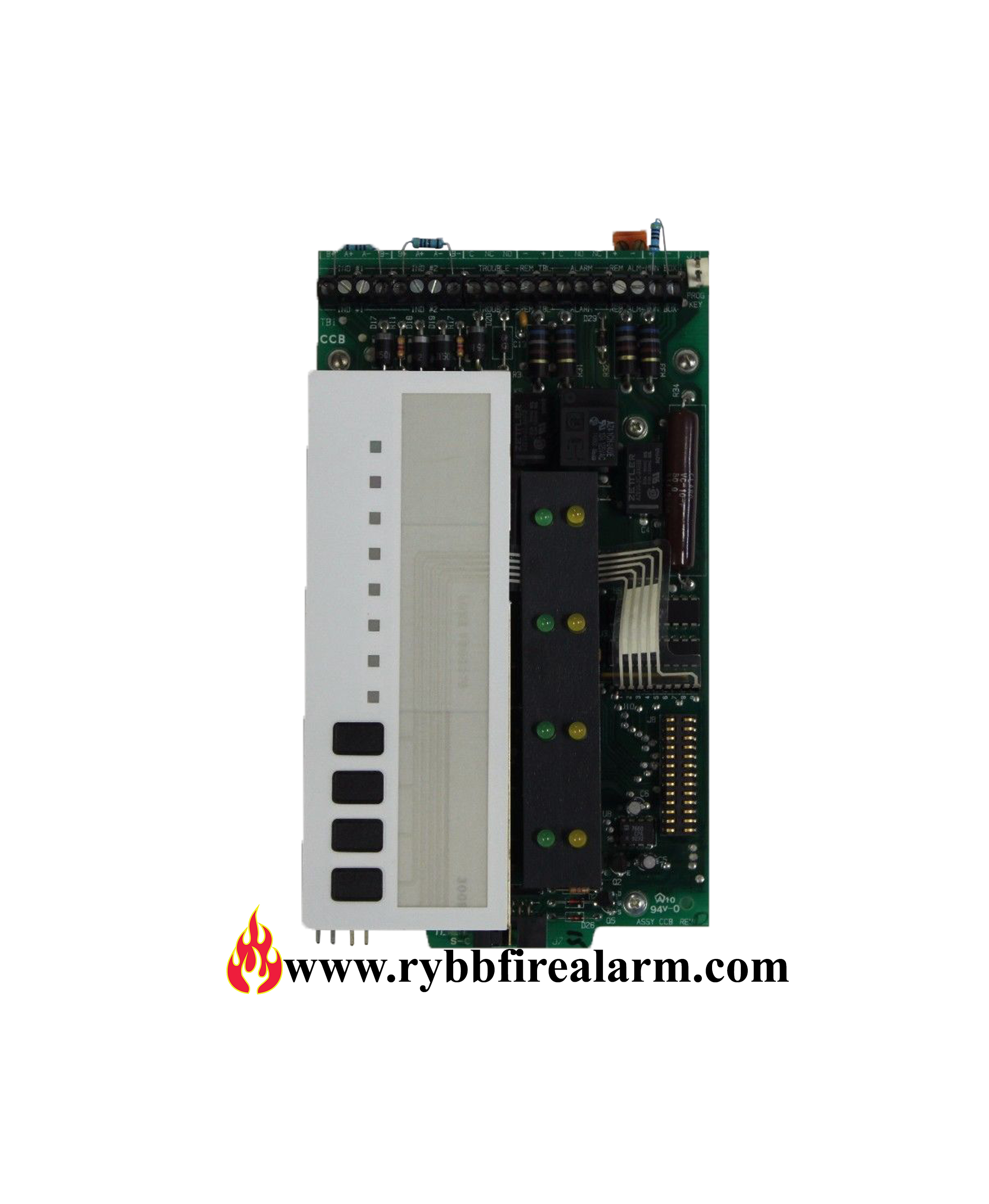 notifier cpu 500 s rybb fire alarm parts service repairs rh rybbfirealarm com Notifier Nfw2 100 Manual Notifier System 5000 Operation Manual
