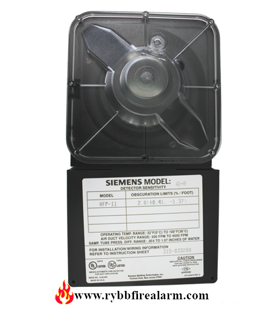 Siemens Ad Hr Air Duct Detector Photo Rybb Fire Alarm