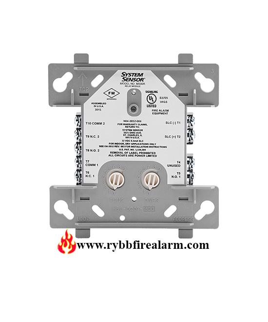 System Sensor M500r Relay Control Module Rybb Fire Alarm