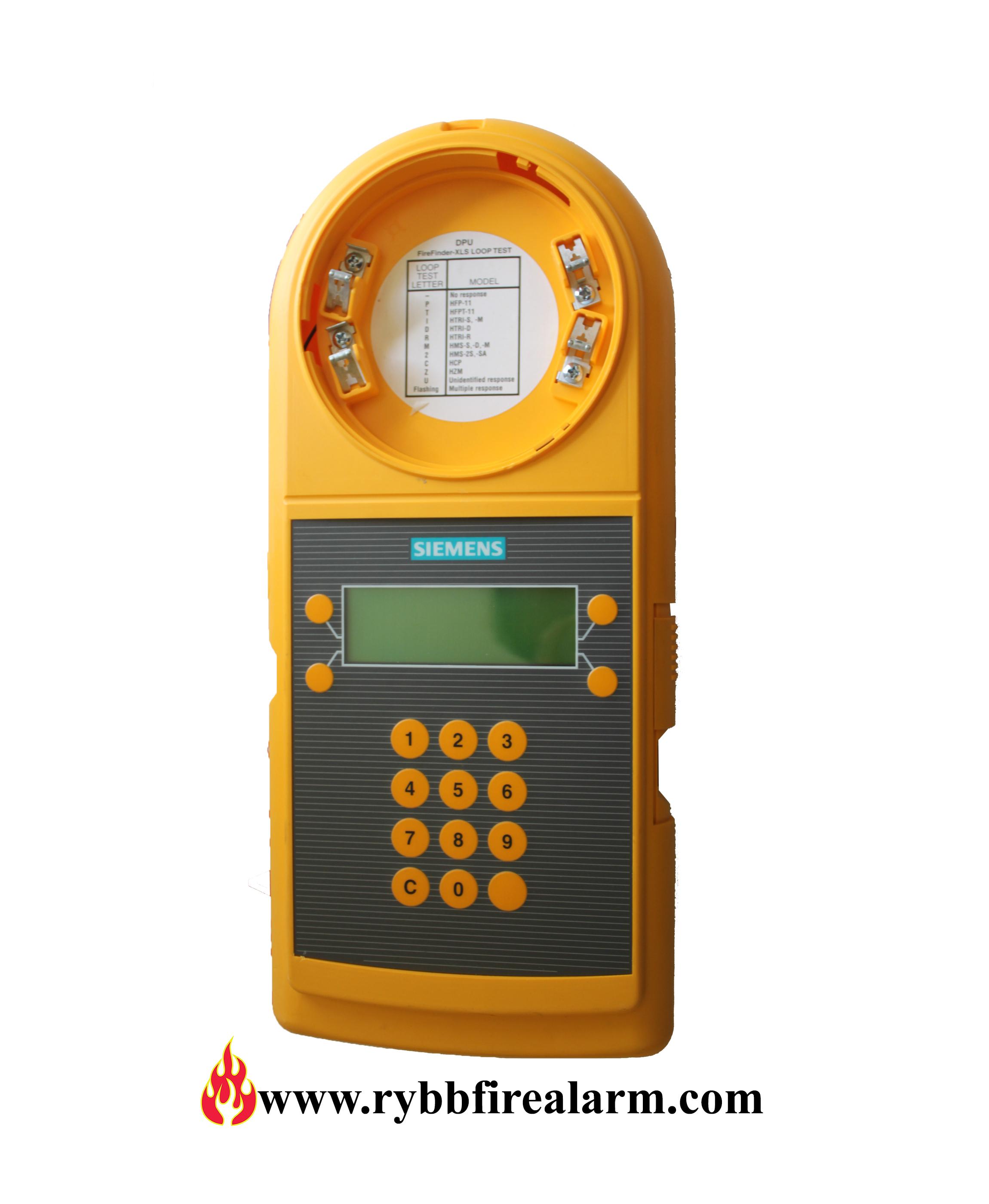 Siemens Dpu Fire Alarm Device Programming Unit Rybb Fire