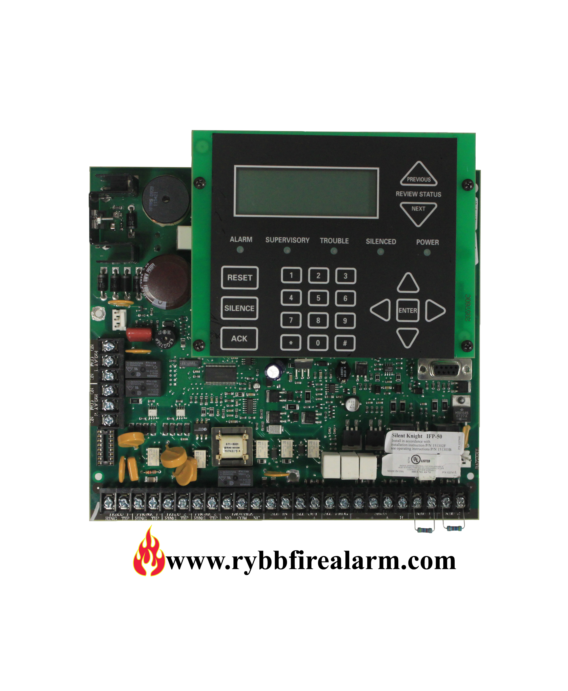 Farenhyt Ifp 50 Replacement Board Rybb Fire Alarm Parts
