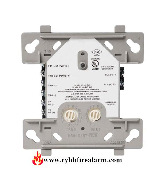 through a horn relay wiring a horn honeywell tc810s1000 release control module rybb fire  honeywell tc810s1000 release control module rybb fire