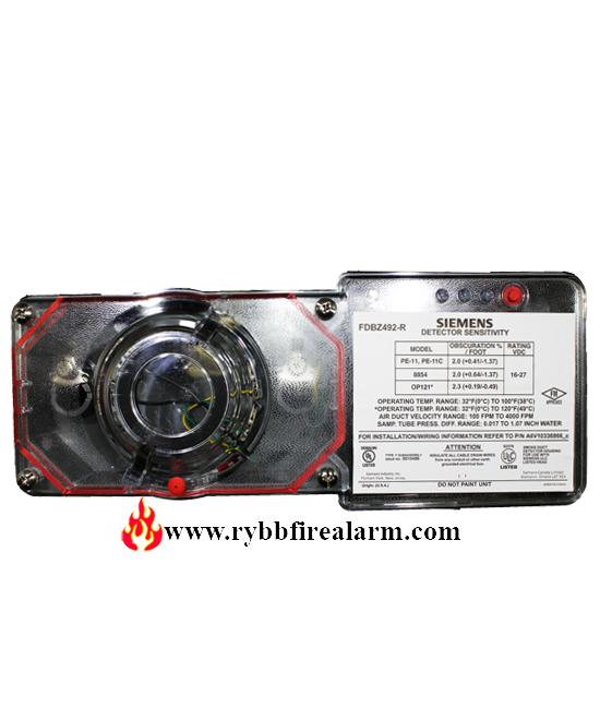 Siemens Fdbz492 R Duct Smoke Detector P N S54319 B24 A1