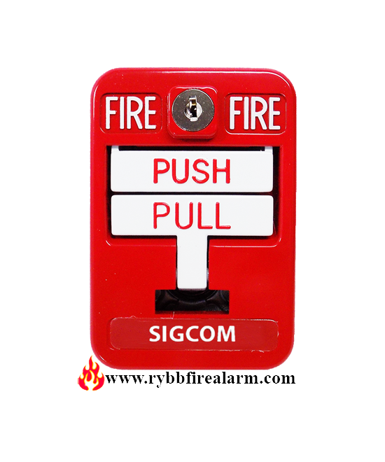 Sigcom Sg-32sk1 Manual Pull Station Double Action
