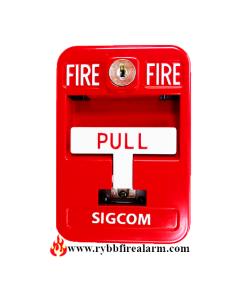 Sigcom SG-42SK2-SC Fire Alarm Pull Station