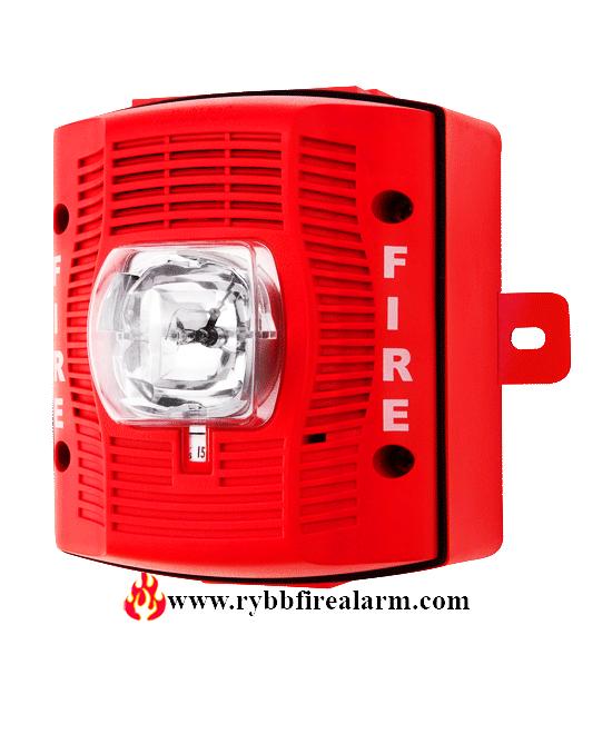System Sensor Spsrk Wall Speaker Strobe Outdoor Red
