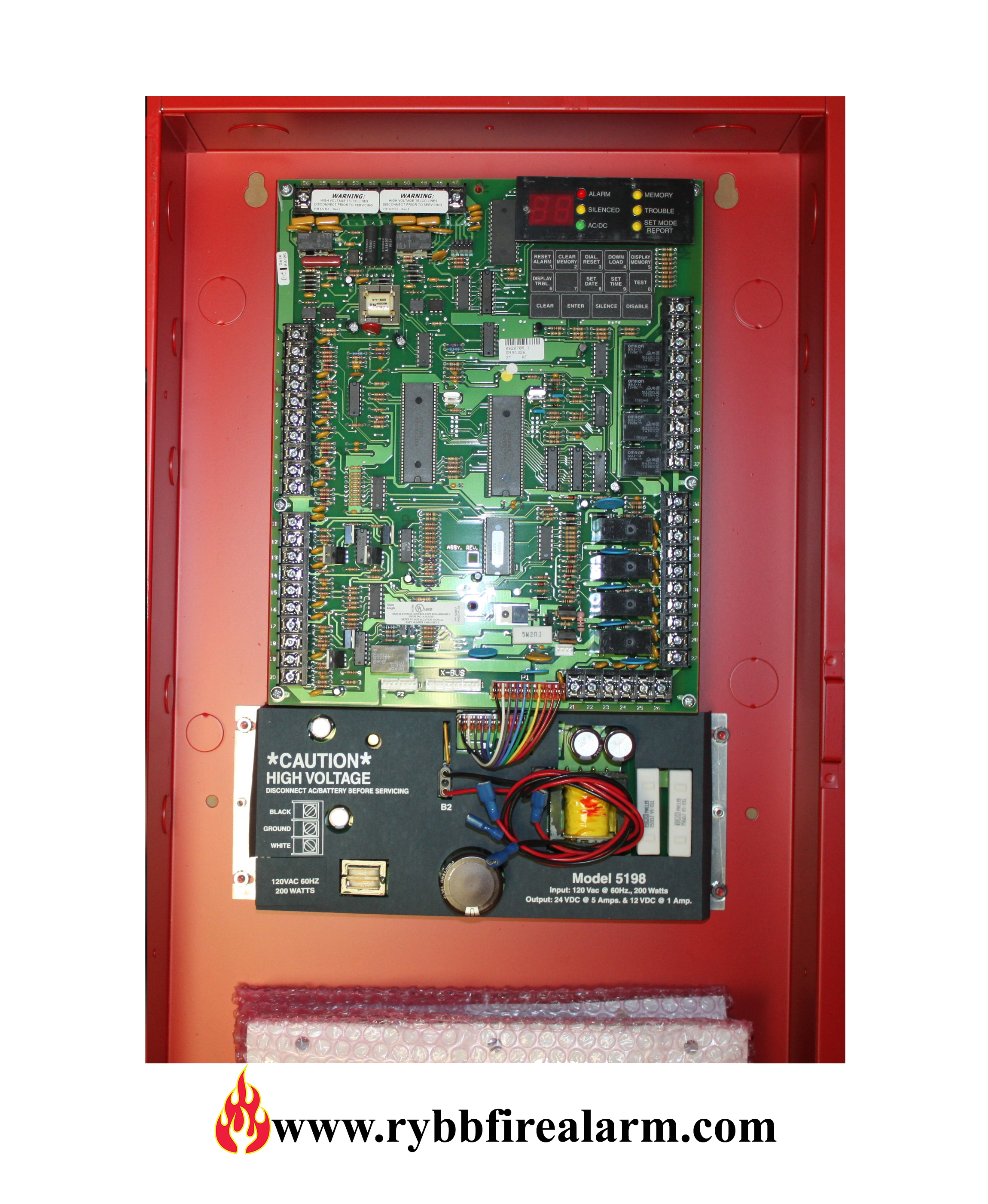 Silent Knight Sk 5207 Replacement Board New Rybb Fire