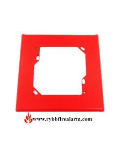 Faraday 3018B-0-14 Red Wall Plate