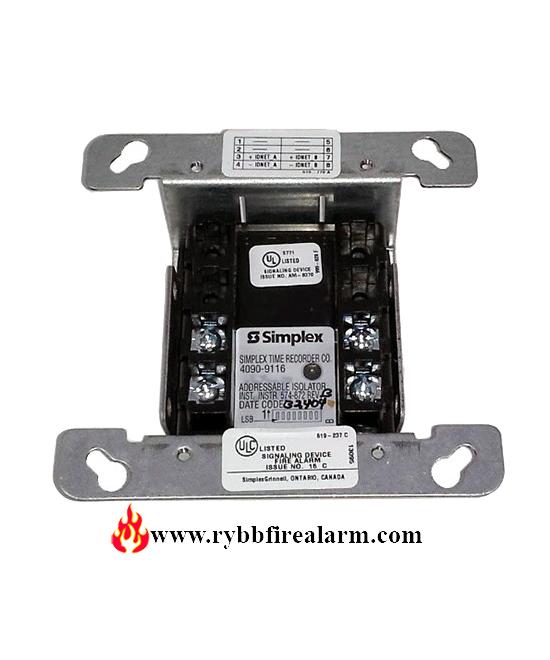 New in Bag Simplex 4090-9001 IDNET module Fire Alarm