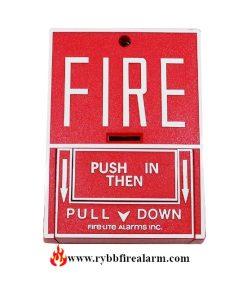 Fire-Lite BG-10LX Addressable Manual Pull Station
