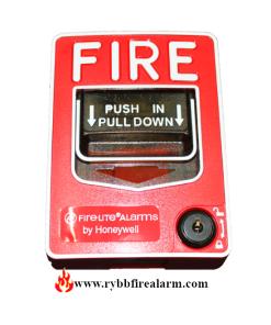 Firelite BG-12LA Dual Action Manual Pull Station