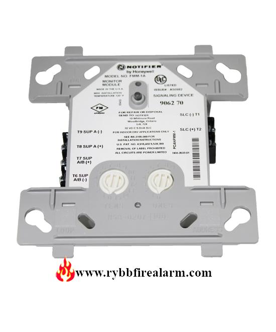 Notifier Fmm 1 A Addressable Monitor Module Rybb Fire