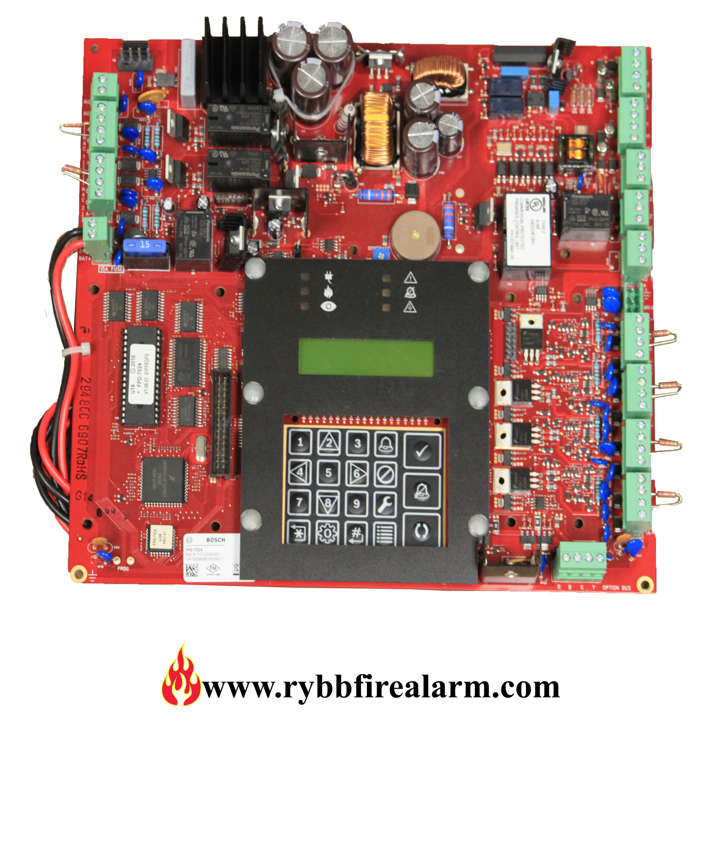 Bosch Fpd 7024 Fire Alarm Control Panel New W Cab