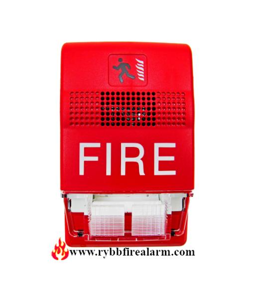 Edwards Est G1RF-V1575 Red Wall Strobe