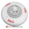 System Sensor SP2C241575 White Ceiling Speaker Strobe