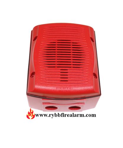 System Sensor Sprk Wall Speaker Outdoor Red Rybb Fire